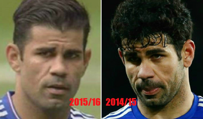 Chelsea star Diego Costa seems to have had a makeover for the new season and now looks incredible