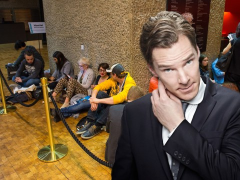 Benedict Cumberbatch fans queue round the block to see him in Hamlet as extra tickets sell out in minutes