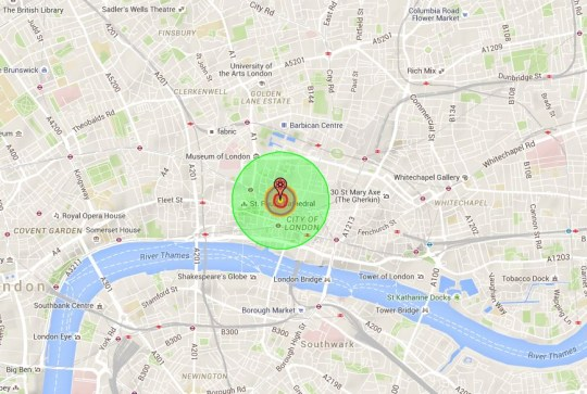 World War 3: If a nuclear bomb hit London, where would be ...