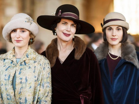 Julian Fellowes says Downton Abbey's success was down to 'luck'