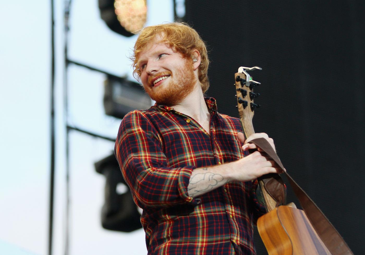 Dear Diary…is Ed Sheeran starring in the next Bridget Jones movie?