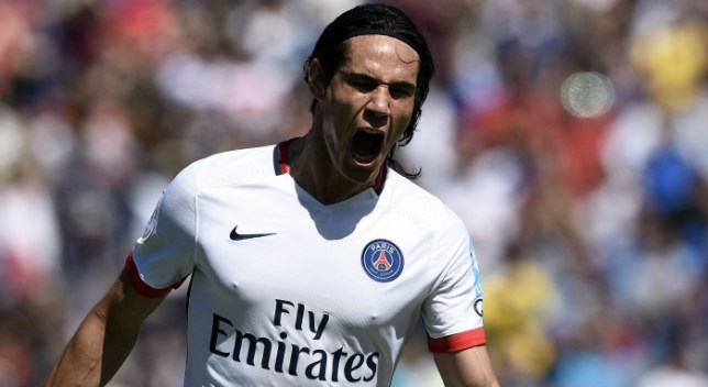Edinson Cavani is a target for Arsenal