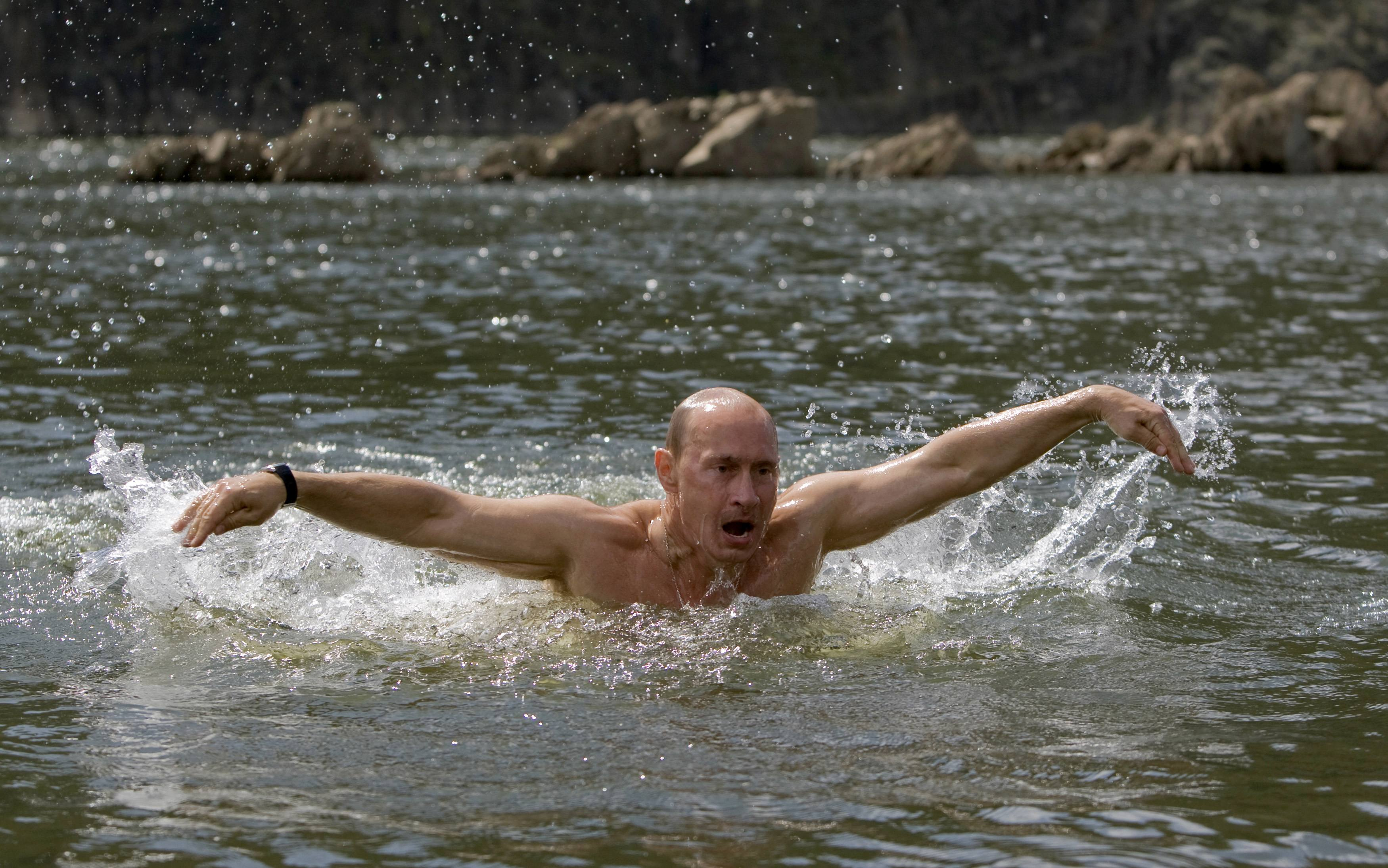 Russia's Prime Minister Vladimir Putin (RUSSIA POLITICS IMAGES OF THE DAY)