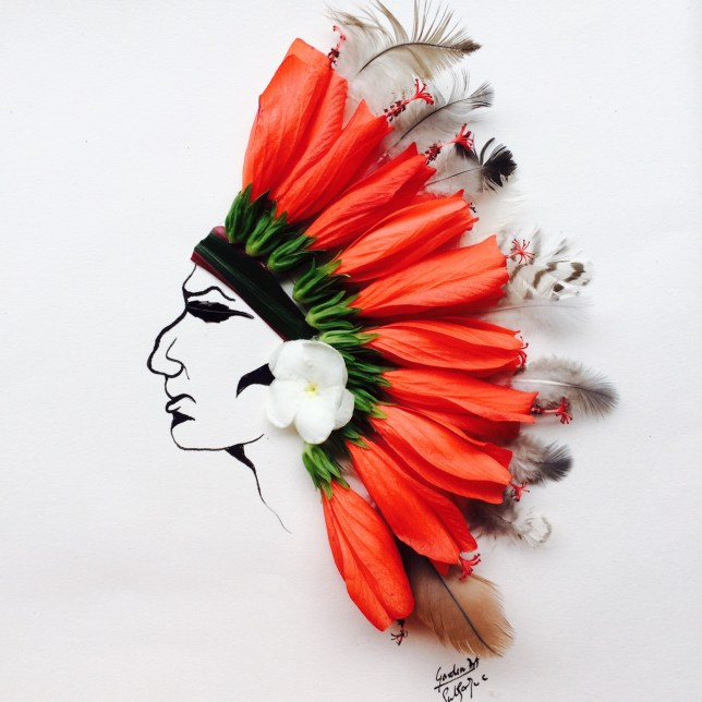 Subhashini Chandramani garden art native american