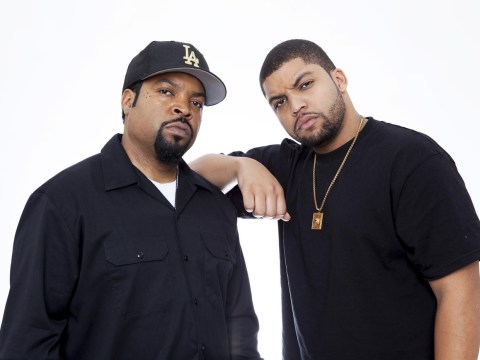 Ice Cube's son is playing him in the N.W.A. biopic Straight Outta Compton