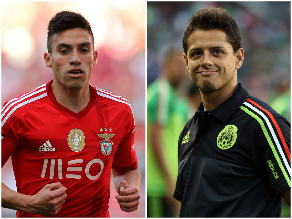 Manchester United 'to offer Javier Hernandez plus cash to seal Nicolas Gaitan transfer'