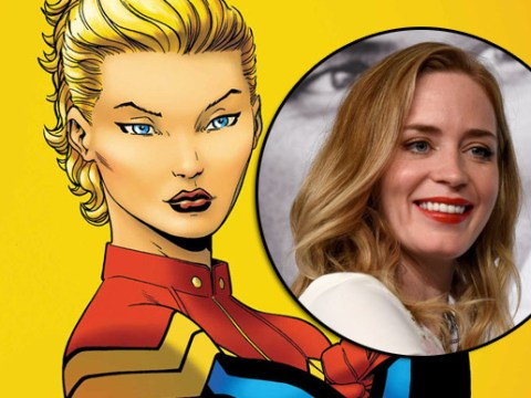 Is Emily Blunt starring as Captain Marvel really 'a done deal'?