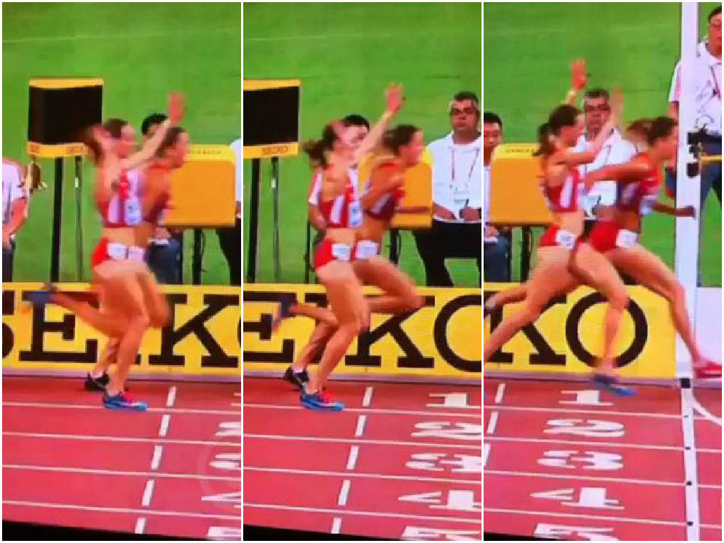 Athlete Molly Huddle celebrates too early in 10,000m, misses out on World Championships bronze medal