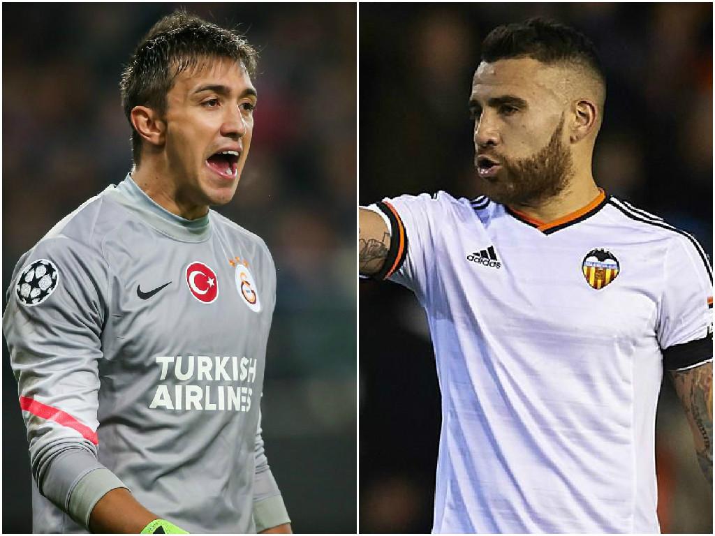 Manchester United 'edge closer to transfer double deal for Fernando Muslera and Nicolas Otamendi'