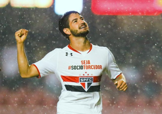Alexandre Pato could be on the move this January (Picture:Getty)