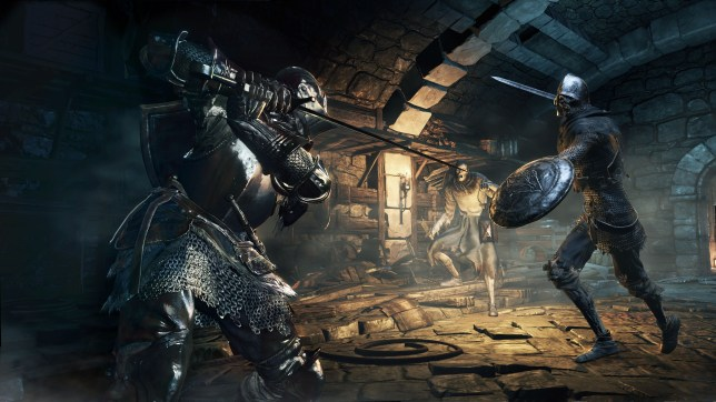 Dark Souls III - get in position