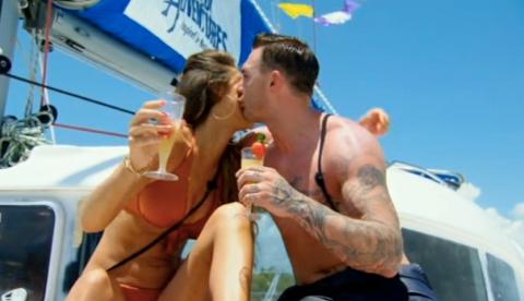 Ex On The Beach season 3 episode 1: Kirk Norcross falls in love (twice) and Magaluf Weekender's Jordan Davies arrives to stir things up