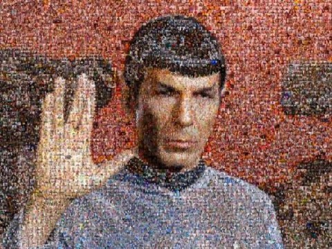 William Shatner unveils 'selfie mosaic' tribute to Leonard Nimoy after calling on Star Trek fans to help