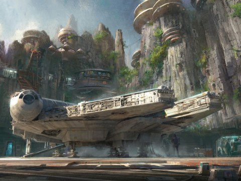 Disney Resorts will start to build the Star Wars-themed lands next year