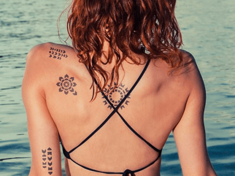 New tattoos (no, not henna) last just two weeks so you don't have to live with regret