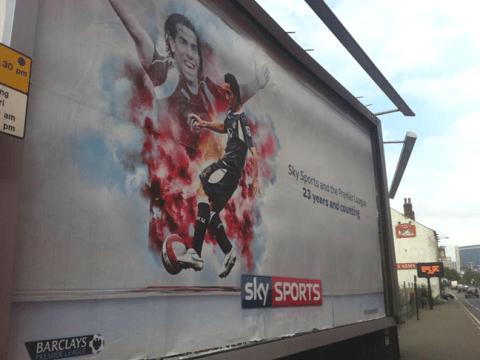 Sky Sports spectacularly troll Sheffield United with new Carlos Tevez billboard