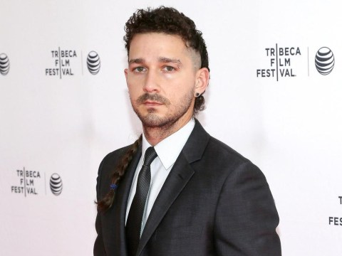 Shia LaBeouf has apparently been healed by his new movie