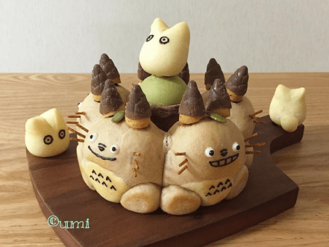 This 3D character bread is almost too cool to eat. Almost.
