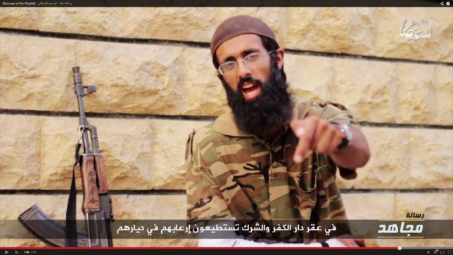 Omar Hussain New Video. Islamic State last night published a video message from an injured British fighter, challenging David Cameron to send ground troops to Iraq. source YouTube