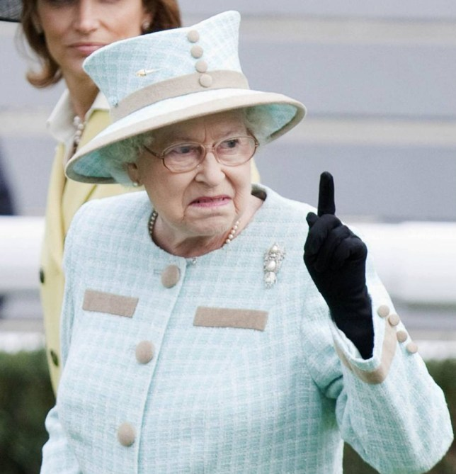Mandatory Credit: Photo by David Hartley/REX Shutterstock (1307349z).. Queen Elizabeth II.. Horse Racing at Newbury Race Course, Berkshire, Britain - 16 Apr 2011.. ..