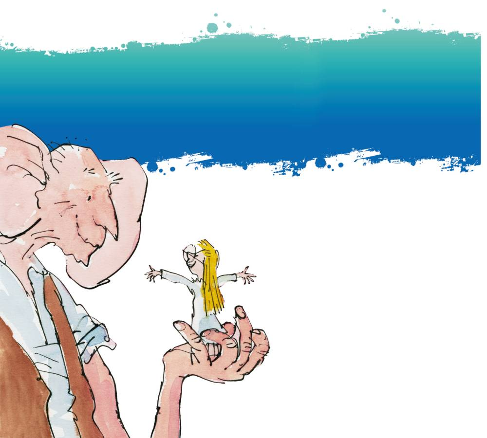 THEATRE : BFG at the Birmingham Rep BFG Final A5 only - please credit The BFG Illustration c 1982 Quentin Blake FREE PUBLICITY PICTURE SUPPLIED BY : Clare Jepson-Homer Communications & PR Manager Birmingham Repertory Theatre Tel: 0121 245 2072 /07807 132041 Email: clare.jepsonhomer@birmingham-rep.co.uk