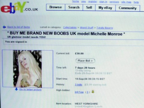 On eBay's 20th birthday – here are some of the strangest items ever flogged online