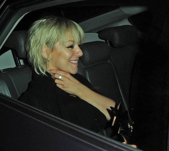 8 Sep 2015 - LONDON - UK CELEBRITYS PICTURED LEAVING THE LONDON HILTON HOTEL AFTER THE TV CHOICE AWARDS 2015 BYLINE MUST READ : XPOSUREPHOTOS.COM ***UK CLIENTS - PICTURES CONTAINING CHILDREN PLEASE PIXELATE FACE PRIOR TO PUBLICATION *** **UK CLIENTS MUST CALL PRIOR TO TV OR ONLINE USAGE PLEASE TELEPHONE 44 208 344 2007 **