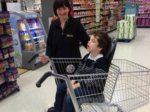 Disabled boy's mother says supermarket's response to complaint 'like winning the lottery'