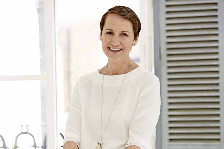 Carol McGiffin presents her new cropped hair as she discusses breast cancer nightmare
