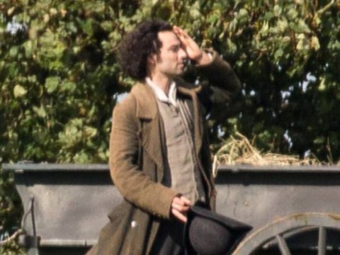 Poldark: Aidan Turner spotted wearing way too many clothes as he films new season of hit BBC drama