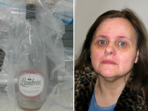 Woman tried to poison her husband by putting anti freeze in his cherry Lambrini