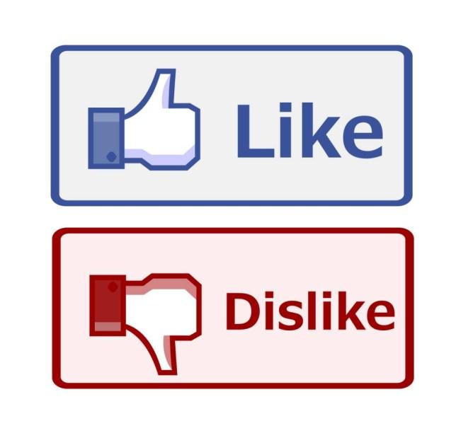 CT2YTF Like and dislike button