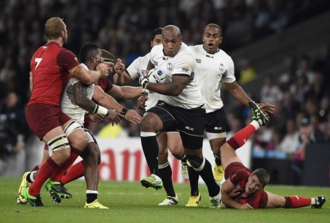 Itv Commentator Nick Mullins Fiji Comments During Rugby
