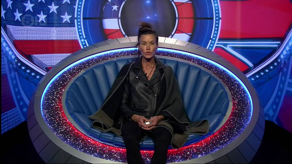 Janice Dickinson in the diary room on 'Celebrity Big Brother'. Broadcast on Channel 5 HD. Featuring: Janice Dickinson Where: United Kingdom When: 18 Sep 2015 Credit: Supplied by WENN **WENN does not claim any ownership including but not limited to Copyright, License in attached material. Fees charged by WENN are for WENN's services only, do not, nor are they intended to, convey to the user any ownership of Copyright, License in material. By publishing this material you expressly agree to indemnify, to hold WENN, its directors, shareholders, employees harmless from any loss, claims, damages, demands, expenses (including legal fees), any causes of action, allegation against WENN arising out of, connected in any way with publication of the material.**