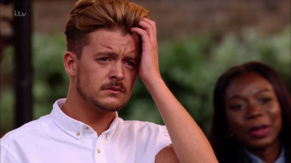 Ryan Ruckledge ruined his performance by not rehursing the lyrics and possibly being drunk from the night before on 'The X Factor Bootcamp', Broadcast on ITV1 HD Featuring: Ryan Ruckledge When: 21 Sep 2015 Credit: Supplied by WENN **WENN does not claim any ownership including but not limited to Copyright, License in attached material. Fees charged by WENN are for WENN's services only, do not, nor are they intended to, convey to the user any ownership of Copyright, License in material. By publishing this material you expressly agree to indemnify, to hold WENN, its directors, shareholders, employees harmless from any loss, claims, damages, demands, expenses (including legal fees), any causes of action, allegation against WENN arising out of, connected in any way with publication of the material.**