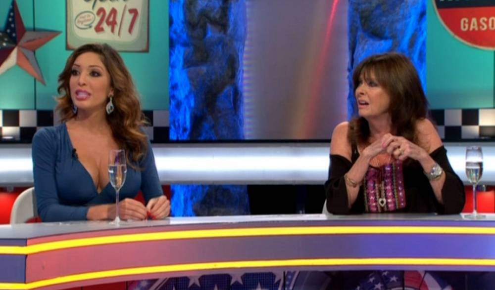 Editorial Use Only Mandatory Credit: Photo by REX Shutterstock (5151931d) Farrah Abraham ignores Vicki Michelle's questions 'Celebrity Big Brother: UK vs USA Bit On The Side' TV show, Elstree Studios, Hertfordshire, Britain - 22 Sep 2015
