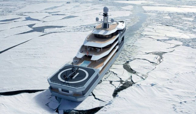 it's the modern-day titanic Credit: Damen Group http://www.damen.com
