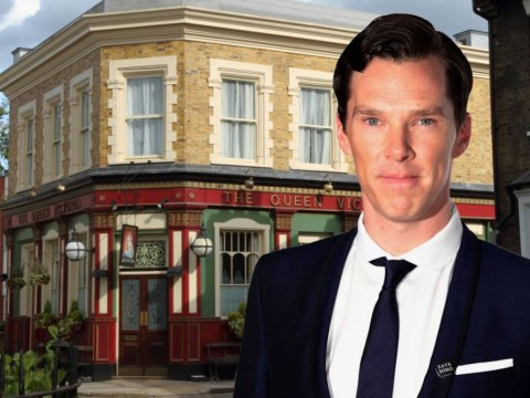 Benedict Cumberbatch wants to do a cameo in EastEnders