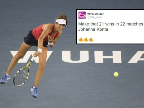 Stats suggest Johanna Konta is Britain's most in-form sportswoman following Simona Halep victory at Wuhan Open