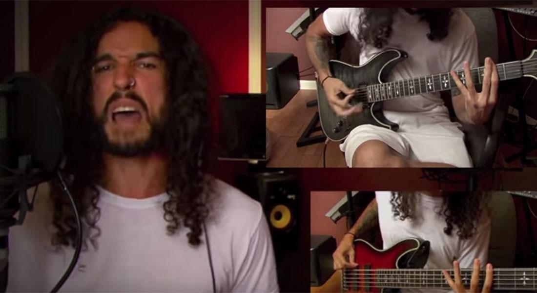 Anthony Vincent Bad Blood metal cover