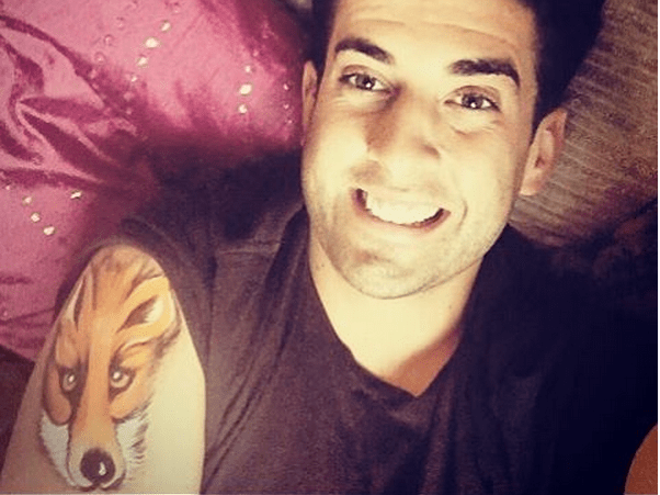 James Argent unveils bizarre fox tattoo – but no one believes it's actually real