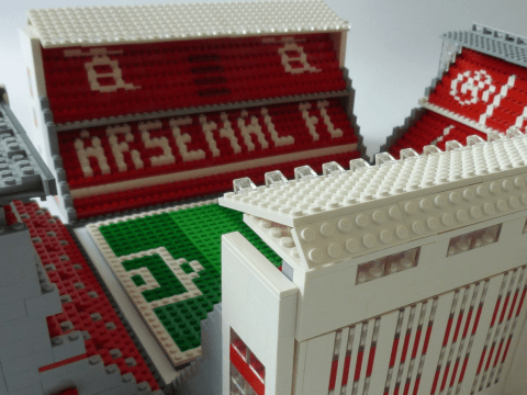 Man on mission to build all 92 English Football League stadiums out of Lego