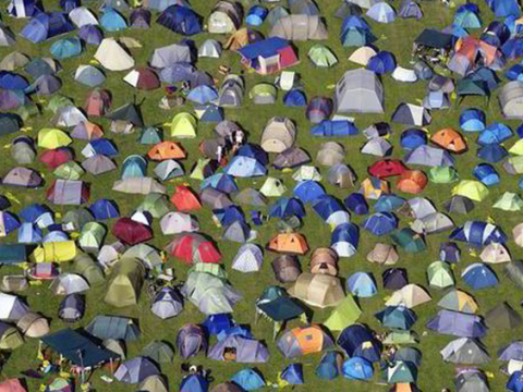 Bestival goers can help the refugee crisis by donating their tents
