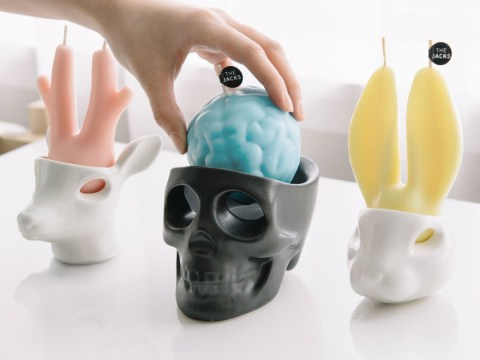 These depressing candles cry scented wax tears