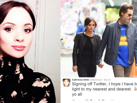 Cathriona White, Jim Carrey's ex-girlfriend, 'commits suicide'