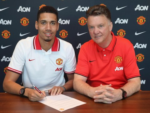 Chris Smalling believes that Manchester United manager Louis van Gaal has improved him as a player