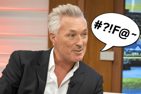 Martin Kemp just got a slap on the wrist for swearing on Good Morning Britain