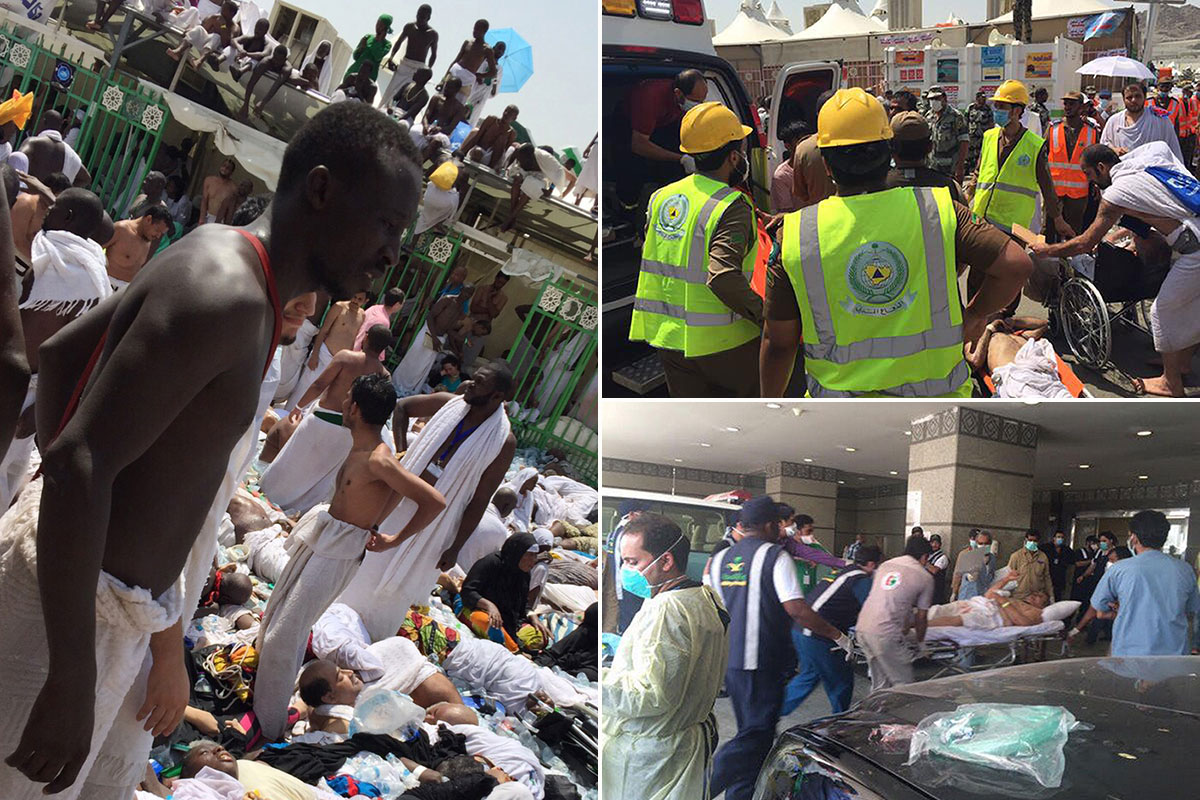 At least 717 dead, 863 injured in crush outside Mecca