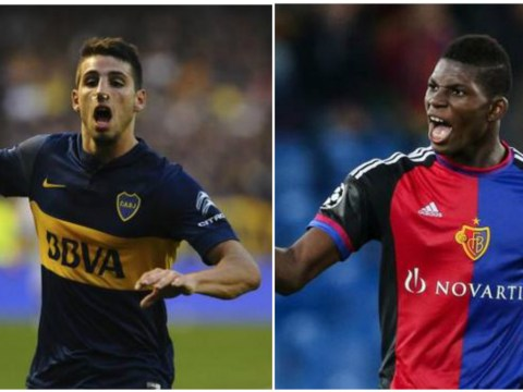 Breel Embolo and Jonathan Calleri are two young strikers Arsenal boss Arsene Wenger should target in the January transfer window