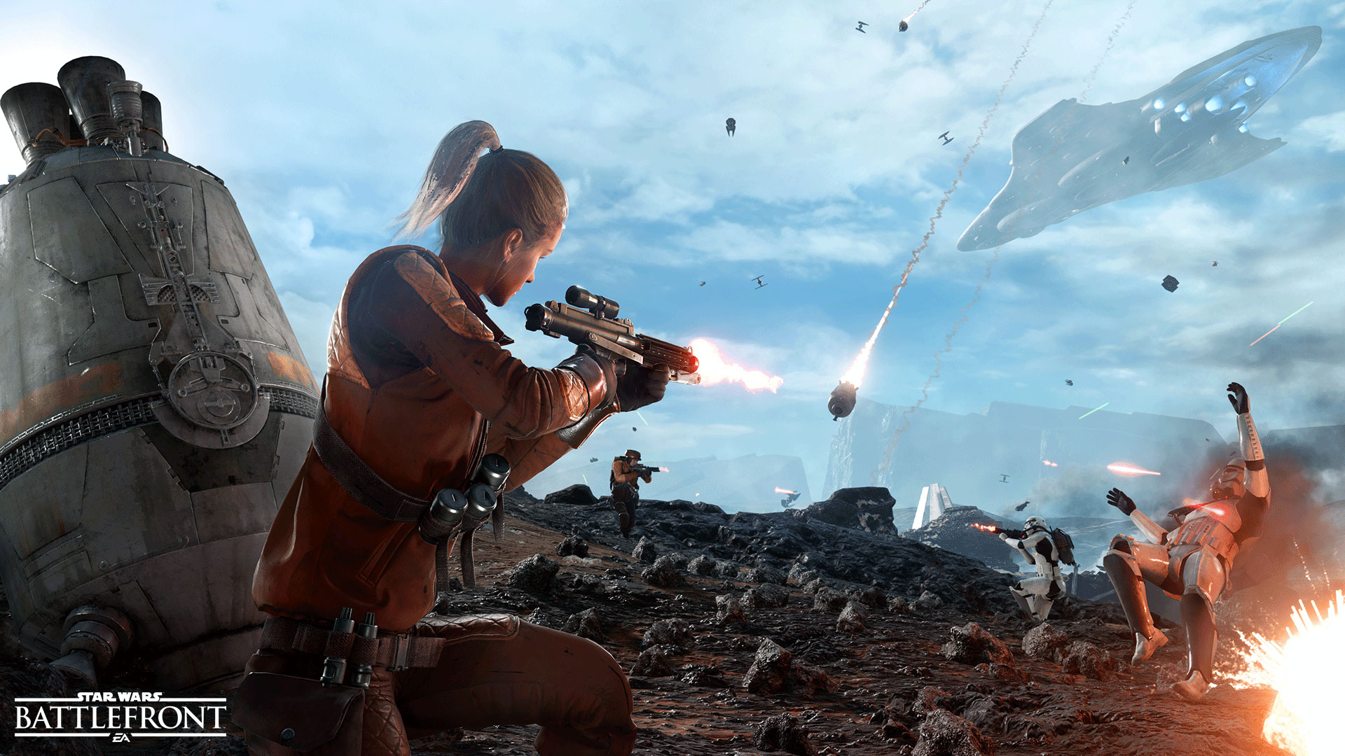 Star Wars: Battlefront - Drop Zone is one of the smaller team modes